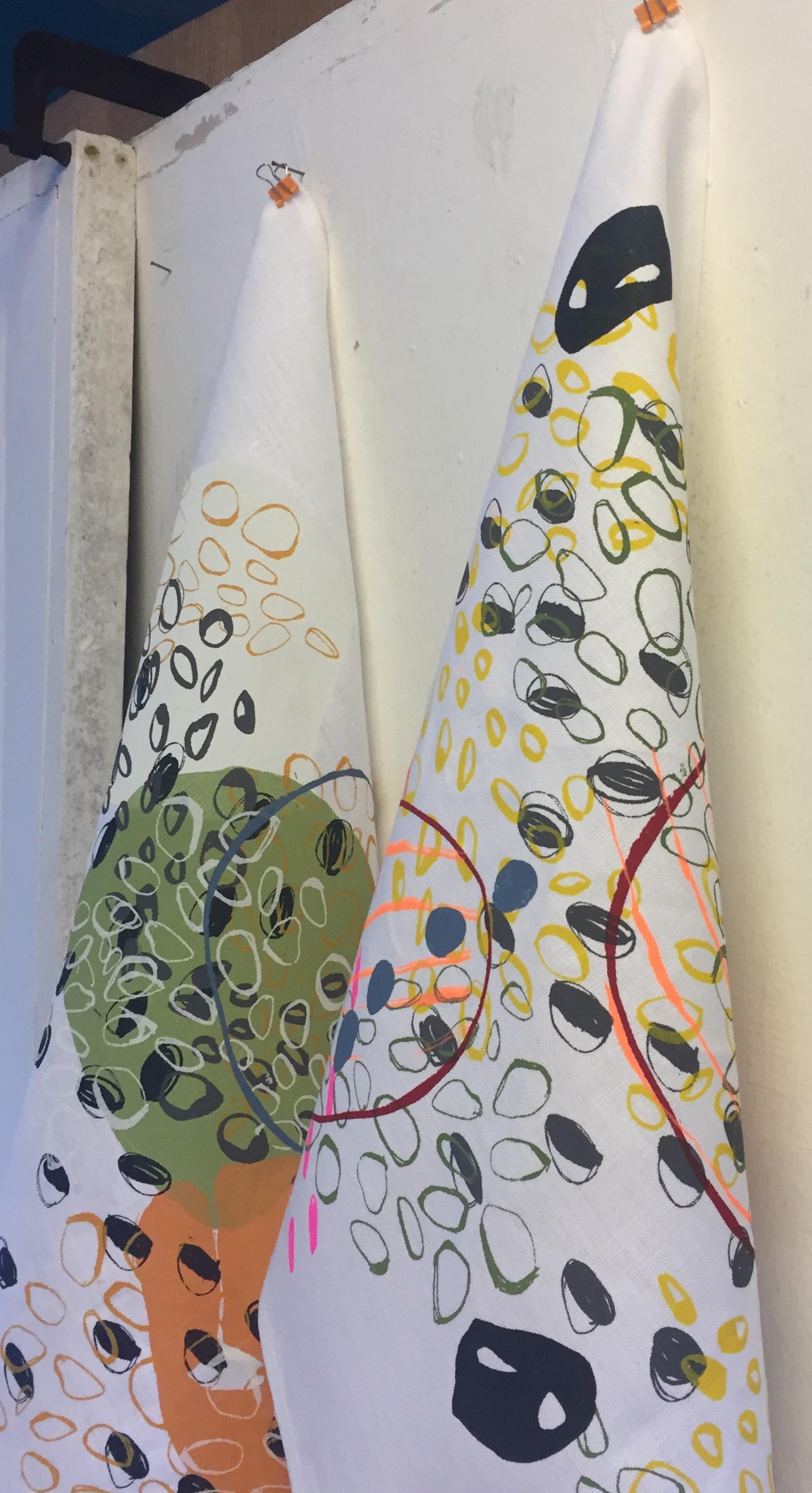 Detail of art towel