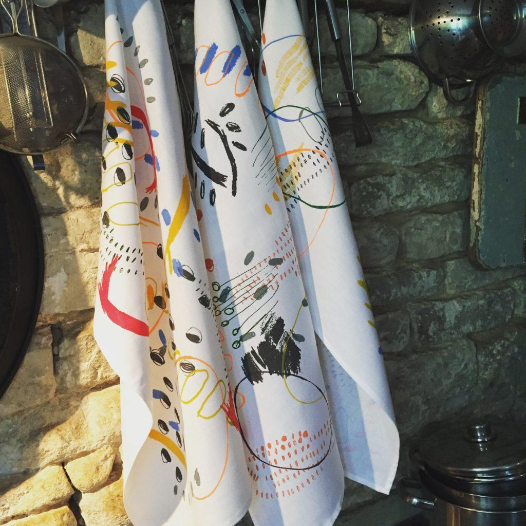 Art Tea Towels