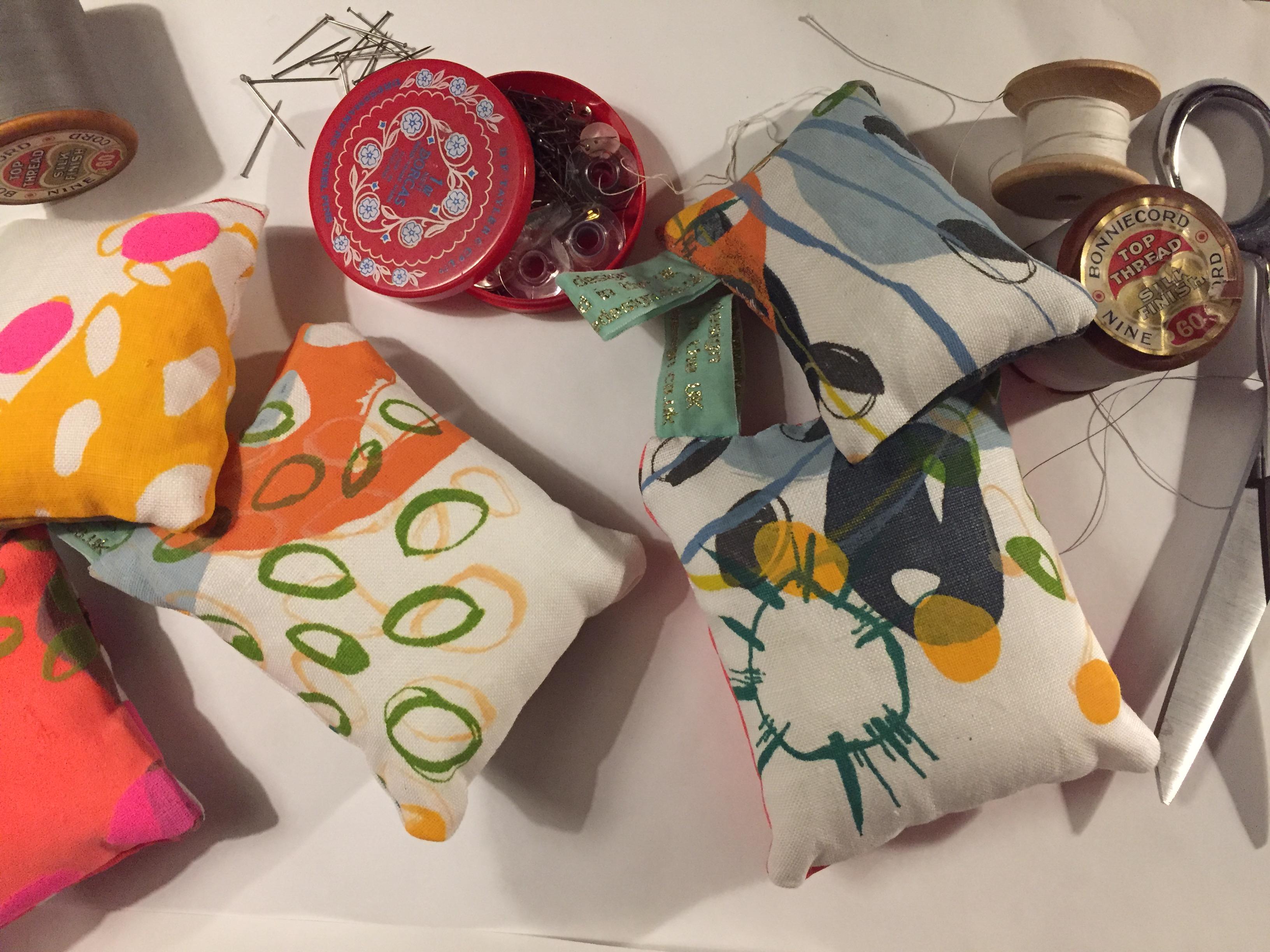 Pins and Pin Cushions
