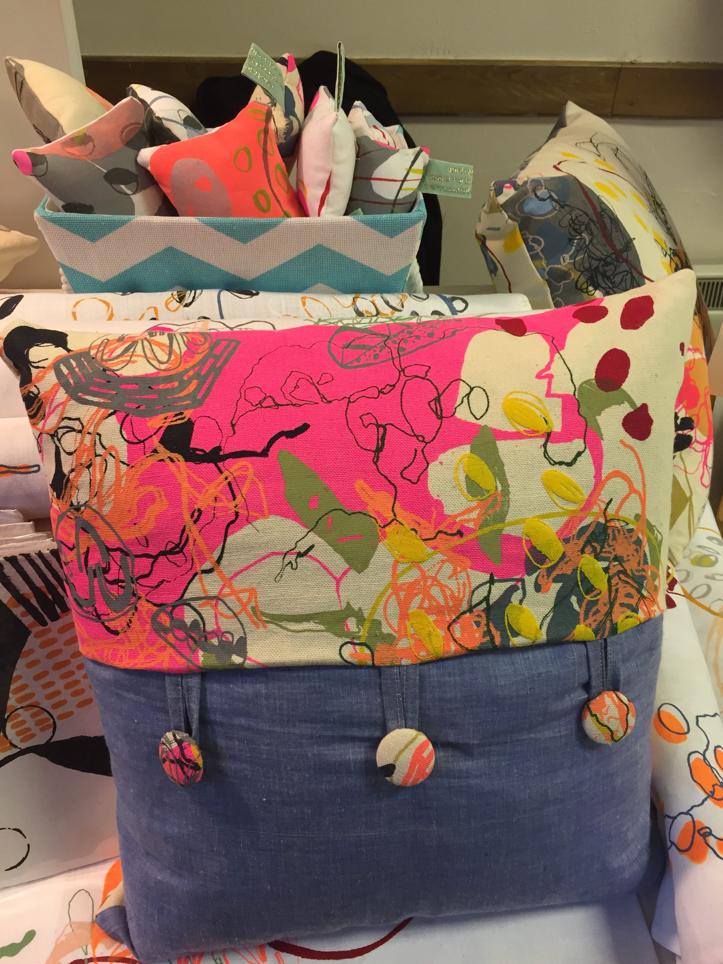 Lyme Regis cushion